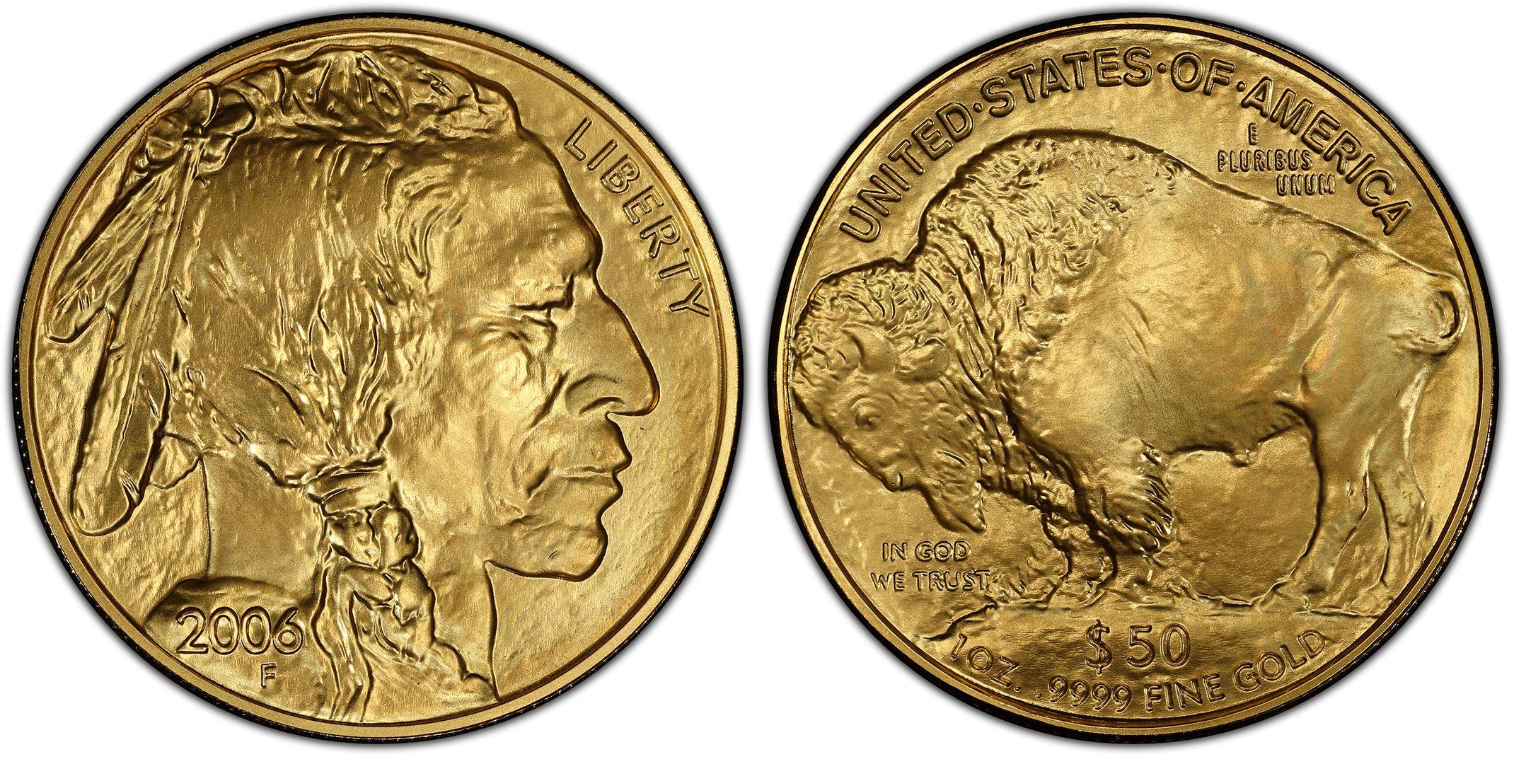 2006 50 American Buffalo 9999 Fine Gold Regular Strike Gold Buffalos Pcgs Coinfacts Gold Bullion Bullion Coins Gold Coins