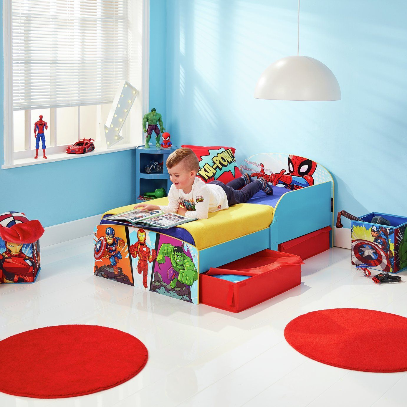 Best Marvel Avengers Toddler Bed Frame With Drawers In 2020 400 x 300