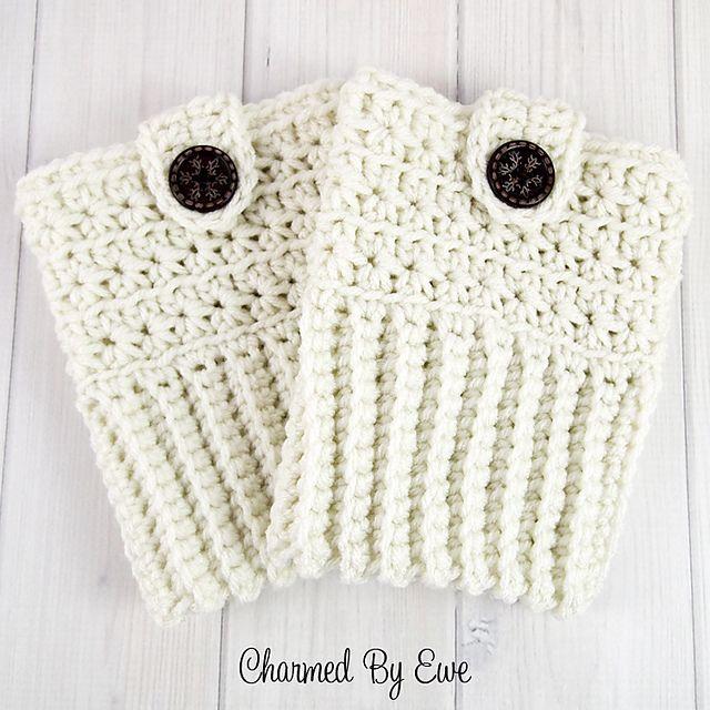 Ravelry: Crochet Star Stitch Boot Cuffs pattern by Janaya Chouinard ...