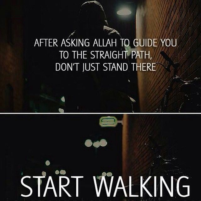 Take steps forward