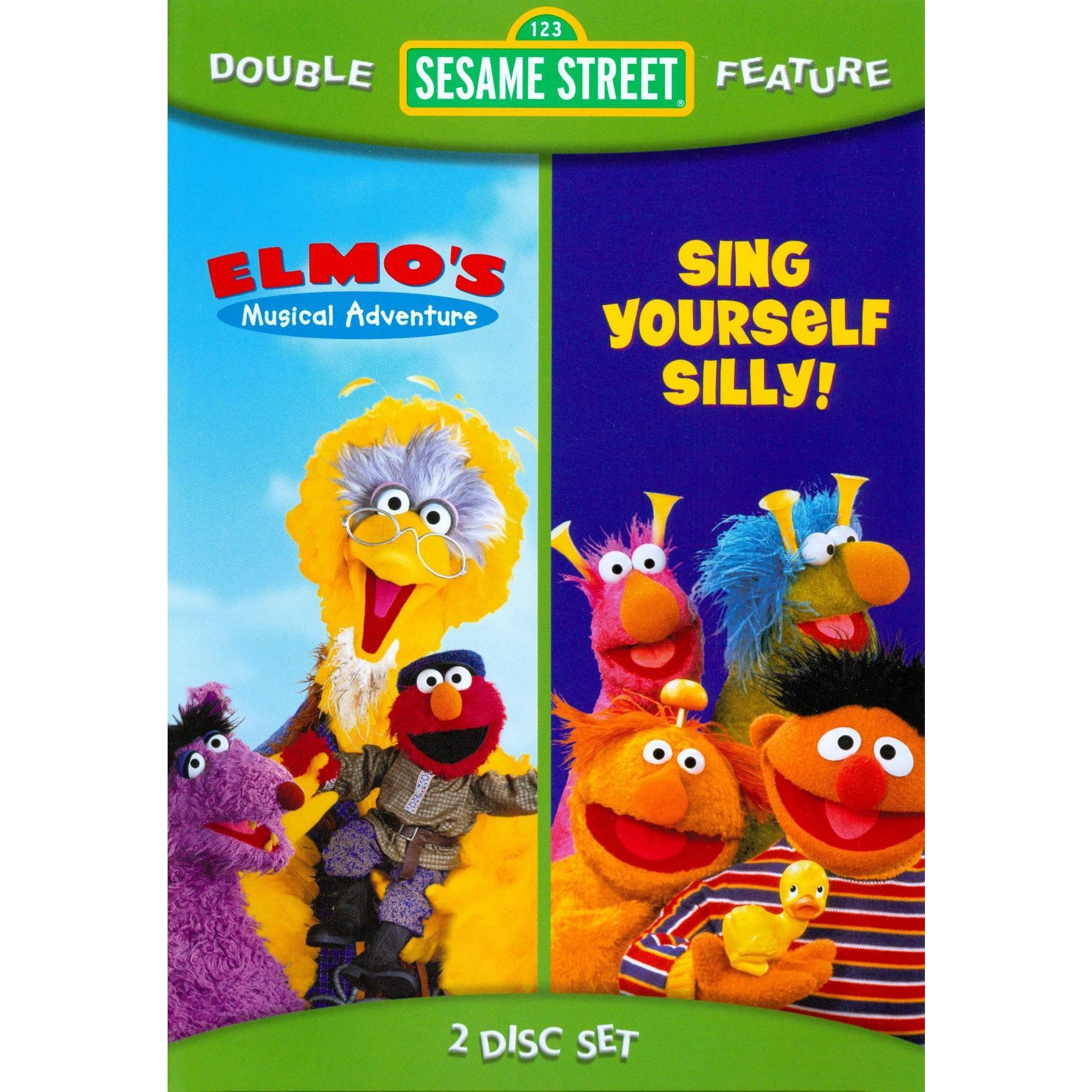 Sesame Street:Sing Yourself Silly/Elm (Dvd) in 2019