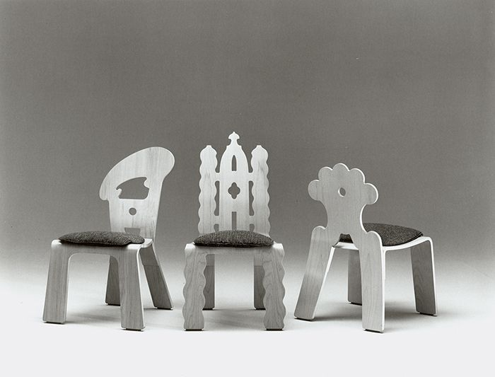 Knoll Sedie ~ Robert venturi chairs for knoll circa 1984 robert venturi