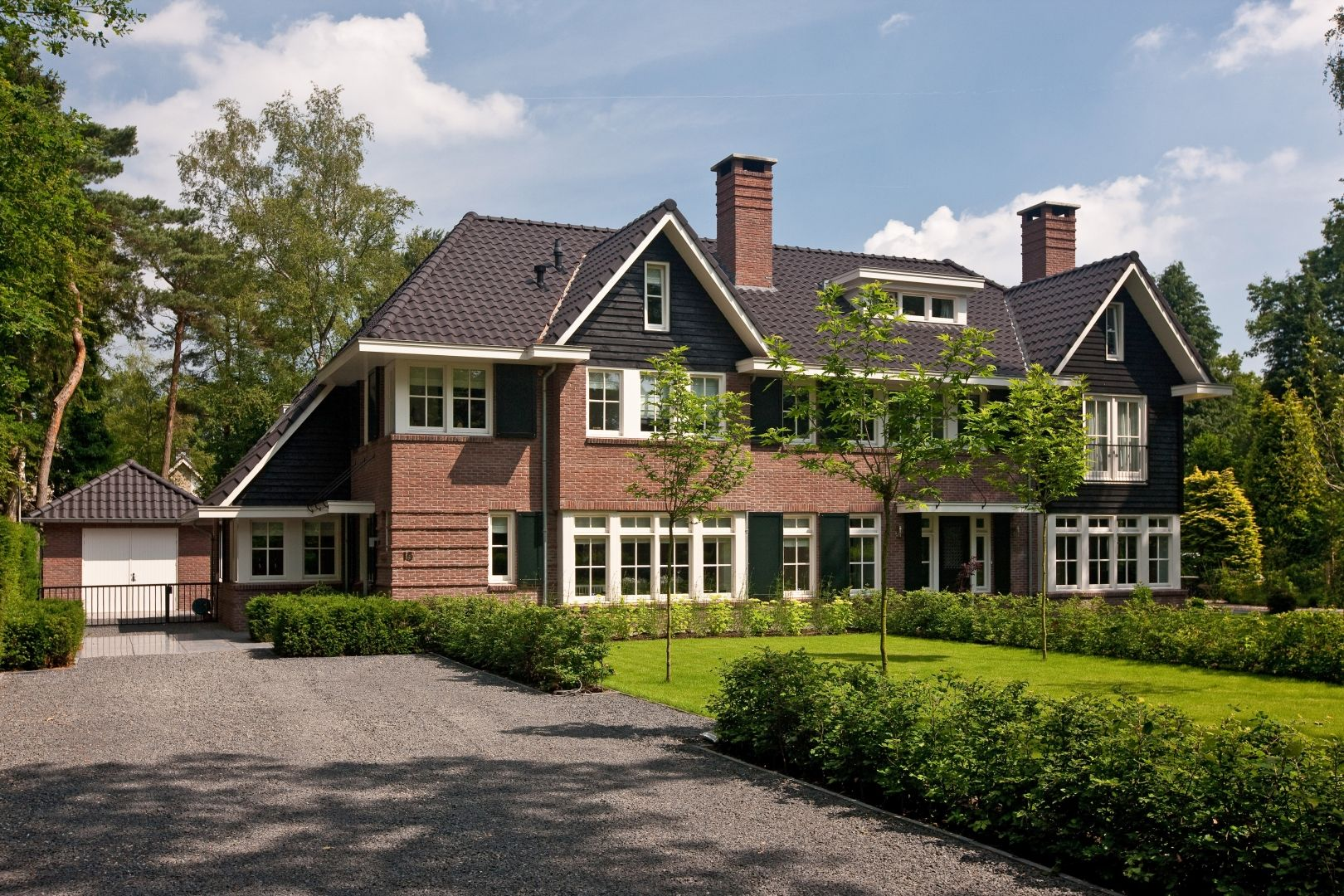 Landhuis te zeist bouwbedrijf lichtenberg huizen stijl