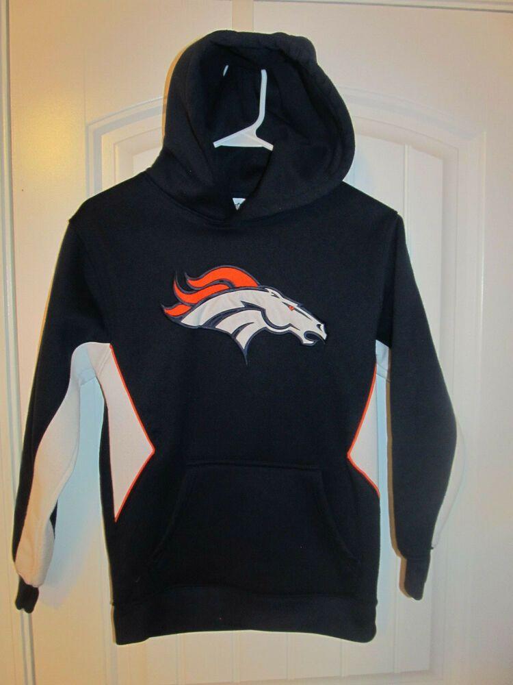 Top Denver Broncos Team Hoodie NFL youth small #NFL #DenverBroncos