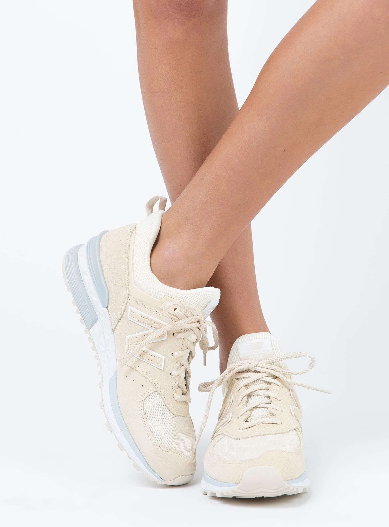 release date: 7ed4d f9cf3 New Balance 574 Sand. New Balance 574 Sand Princess Polly, Latest Fashion  For Women ...