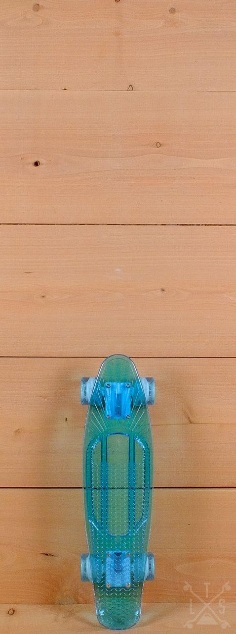 """Sunset Prebuilt 22"""" Ocean Skateboard"""