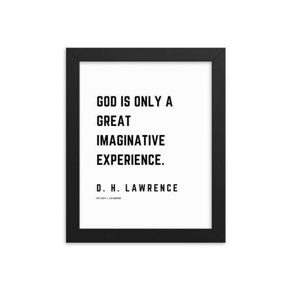 17 | D. H. Lawrence Quotes | Framed Print Poster | 200118| Literature Novelist Words Saying Famous L