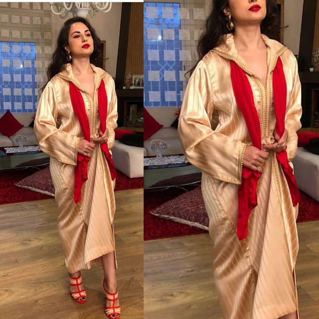 الجلابة المغربية الجلابة المغربية لباس تقليدي مغربي Arabiceleganc Fashion Sari Saree