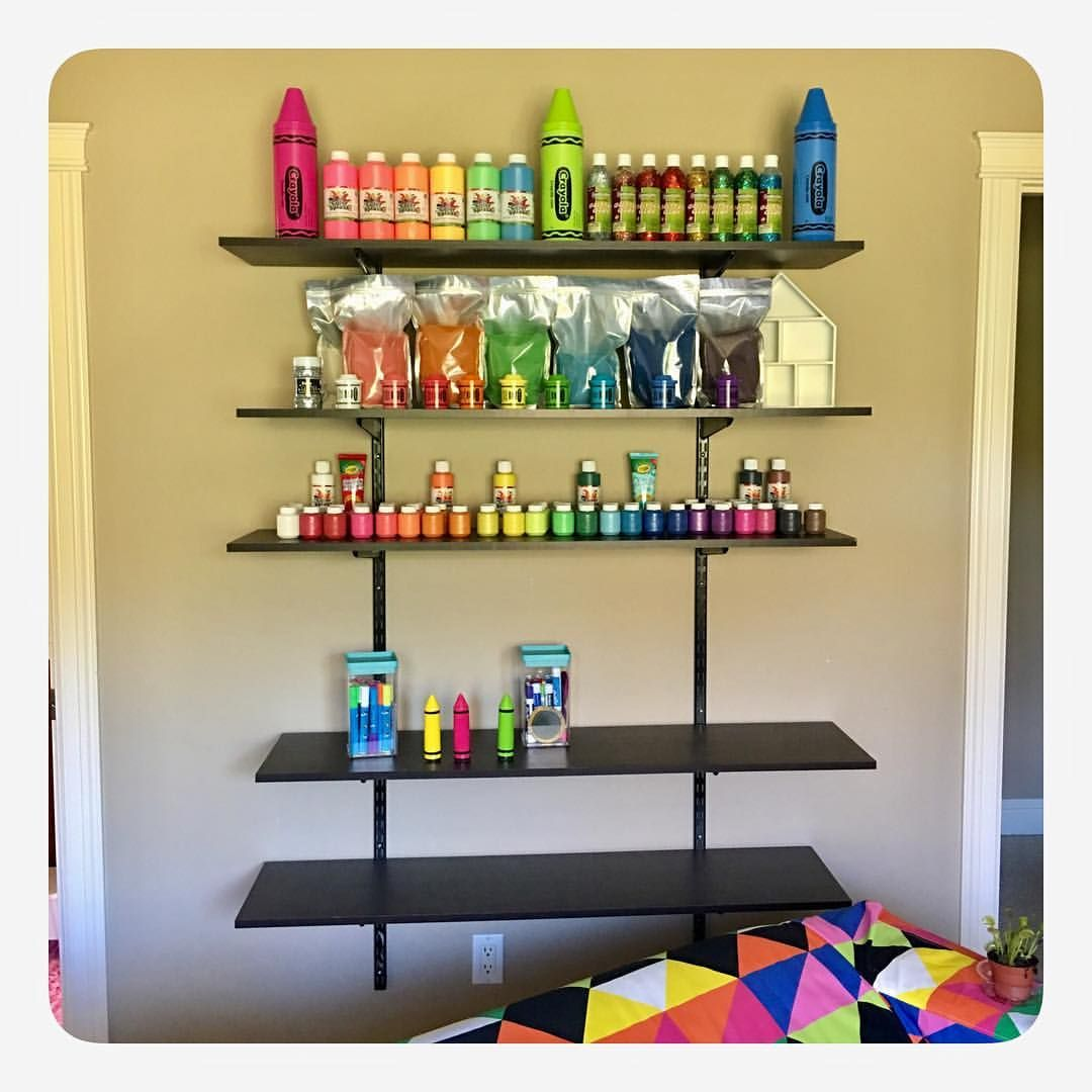Organization is the key! I️ love to organize our playroom and art ...