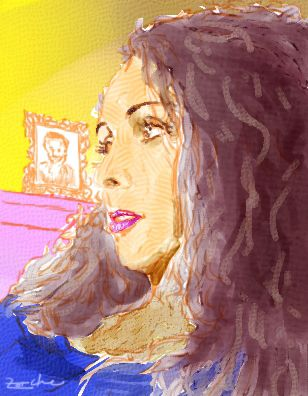 Painting digital, effet aquarelle