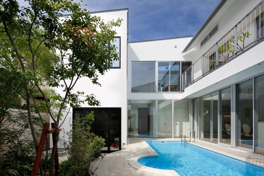 プールのある家5選 ラグジュアリーな時間を自宅で楽しむ プール