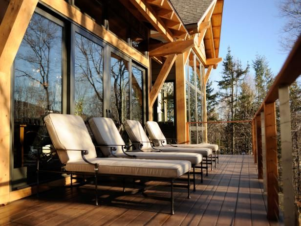 HGTV.com showcases pictures and video of the beautiful and relaxing back deck from HGTV Dream Home 2011.