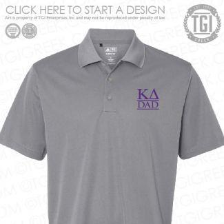 eb4428361 Kappa Delta | KΔ | Dad's Day | Dad's Day Polo | Embroidery | TGI Greek |  Greek Apparel | Custom Apparel | Sorority Tee Shirts | Sorority T-shirts |  Custom ...