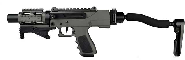 New MasterPiece Arms MPA930DMG Uses Glock Mags - The Firearm