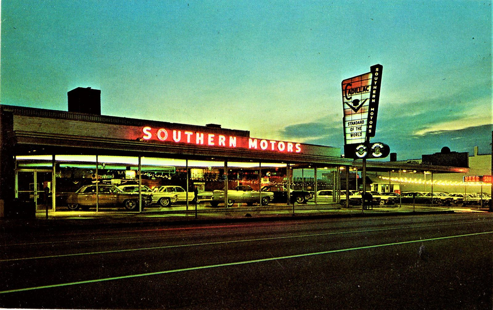 1960's Southern Motors Cadillac Dealership, Memphis, Tennessee