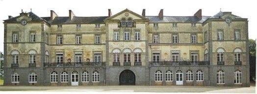 Château de L'Argentaye, Saint-Lormel dans le département des Côtes-d'Armor.Bretagne France