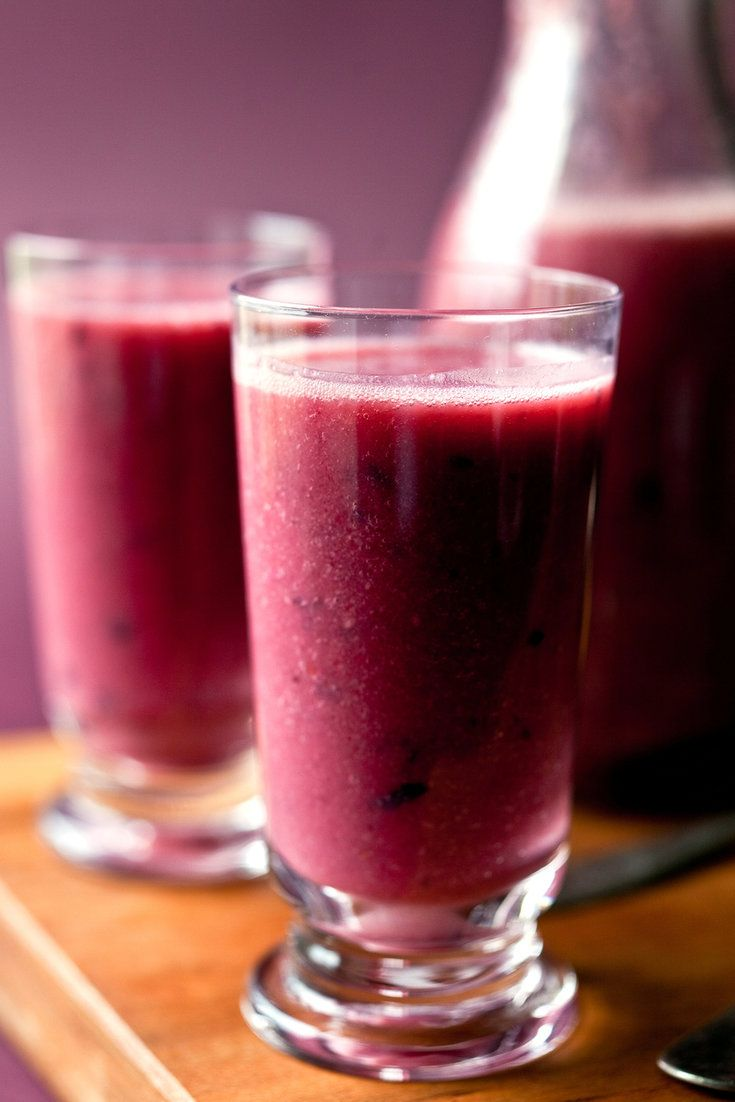 Plum Red Grape And Almond Smoothie Recipe Recipe Wine Smoothie Almond Smoothie Recipe Almond Smoothie