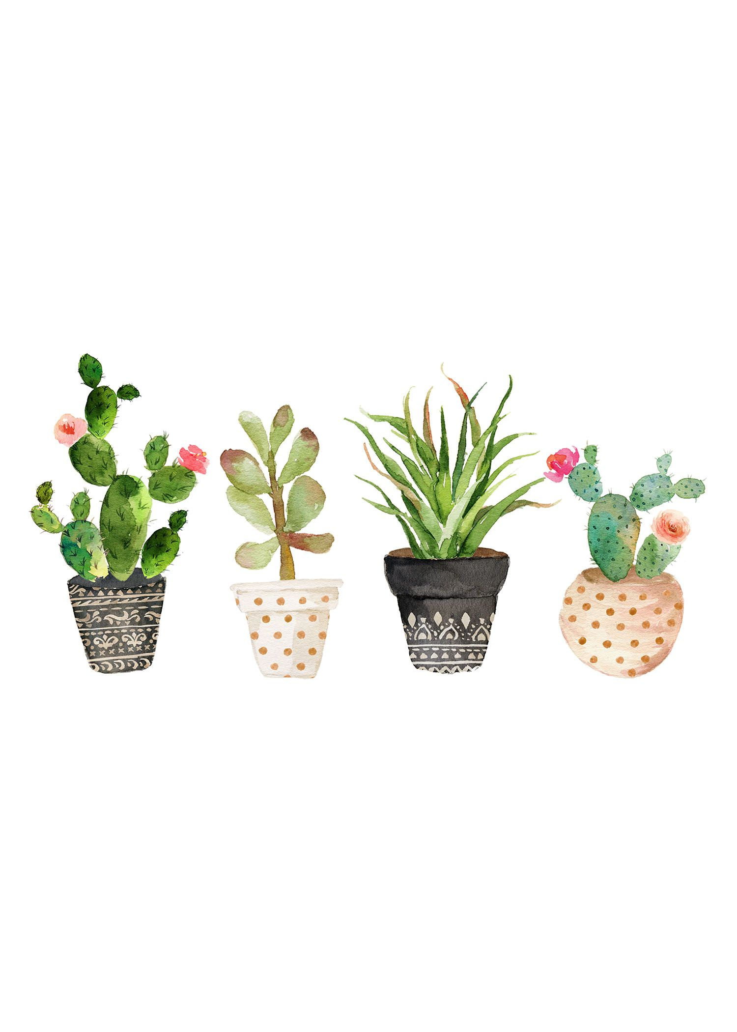 Fabulous And Fun Free Printable Succulent Wall Art The Cottage Market Succulent Wall Art Free Printable Art Free Wall Art