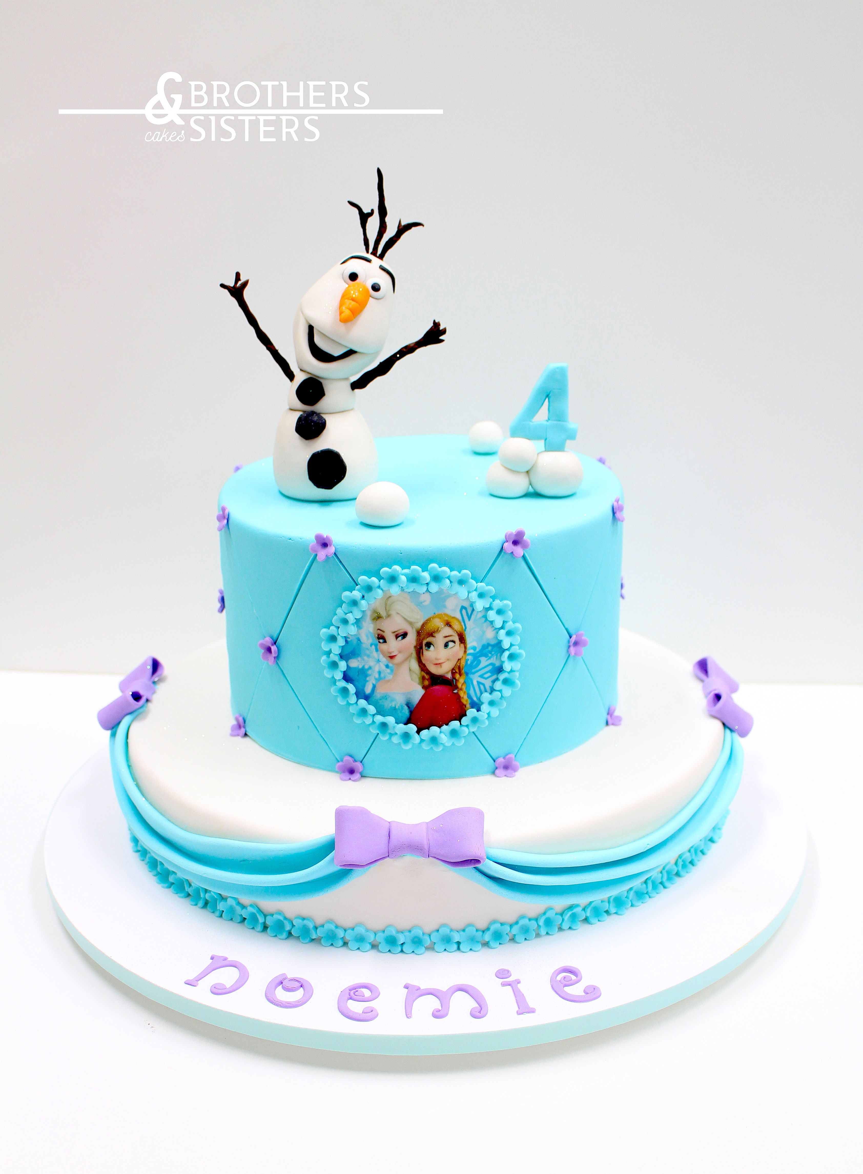 Frozen Cake design