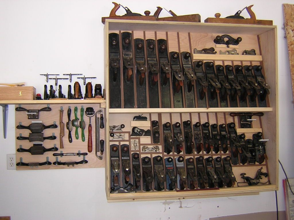 Hand Plane Storage Ideas Bing Images Woodworking Tools In 2019