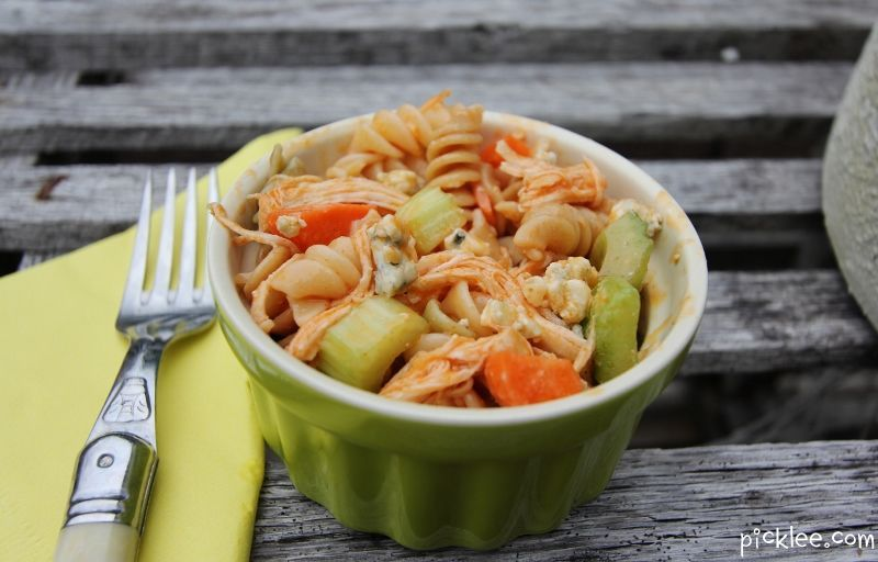 buffalo chicken pasta salad #buffalochickenpastasalad buffalo chicken pasta salad #buffalochickenpastasalad