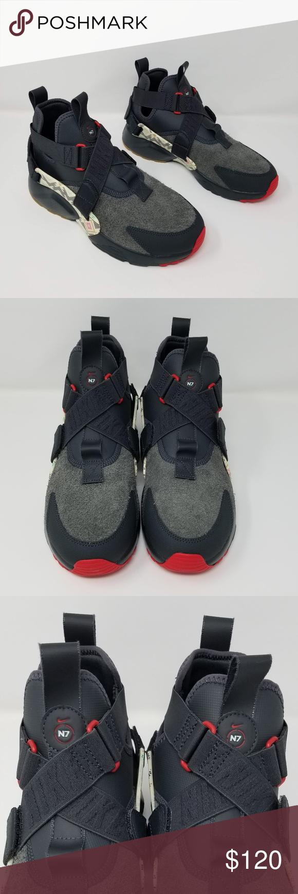 best sneakers df1d9 44bea Nike AIR HUARACHE CITY UTILITY PREMIUM N7 Nike AIR HUARACHE CITY UTILITY  PREMIUM N7 AT6170 001