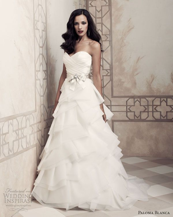 Bridal Gowns Paloma Blanca 2013 Wedding Dresses