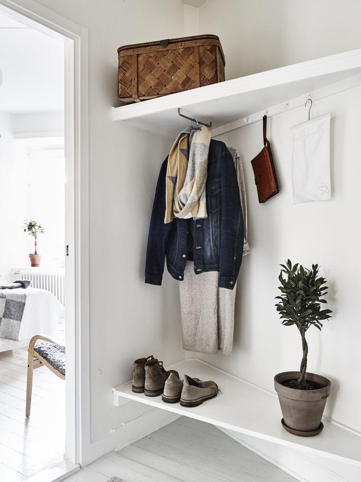 52 indretnings tips der optimerer dit hjem flure. Black Bedroom Furniture Sets. Home Design Ideas