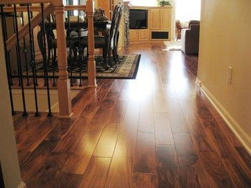Solid Acacia Smooth Plank Prefinished Acacia Hardwood Flooring Acacia Design Flooring