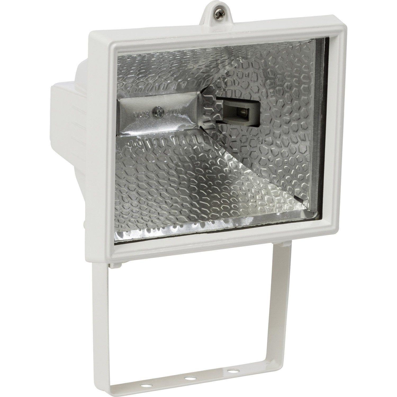 Projecteur A Fixer Exterieur Tanko R7s 118 Mm 400 W Blanc