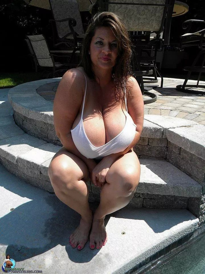 Hot and horny with big tits