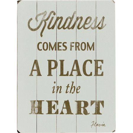 I pinned this kindness wall art from the laundry room refresh event at joss and main