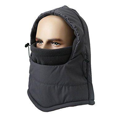 533b8fb5d1e LoveHike Waterproof Balaclava Hood Hat Windproof Ski Face Mask for Men Women  Children Warm Fleece Winter Hat Review