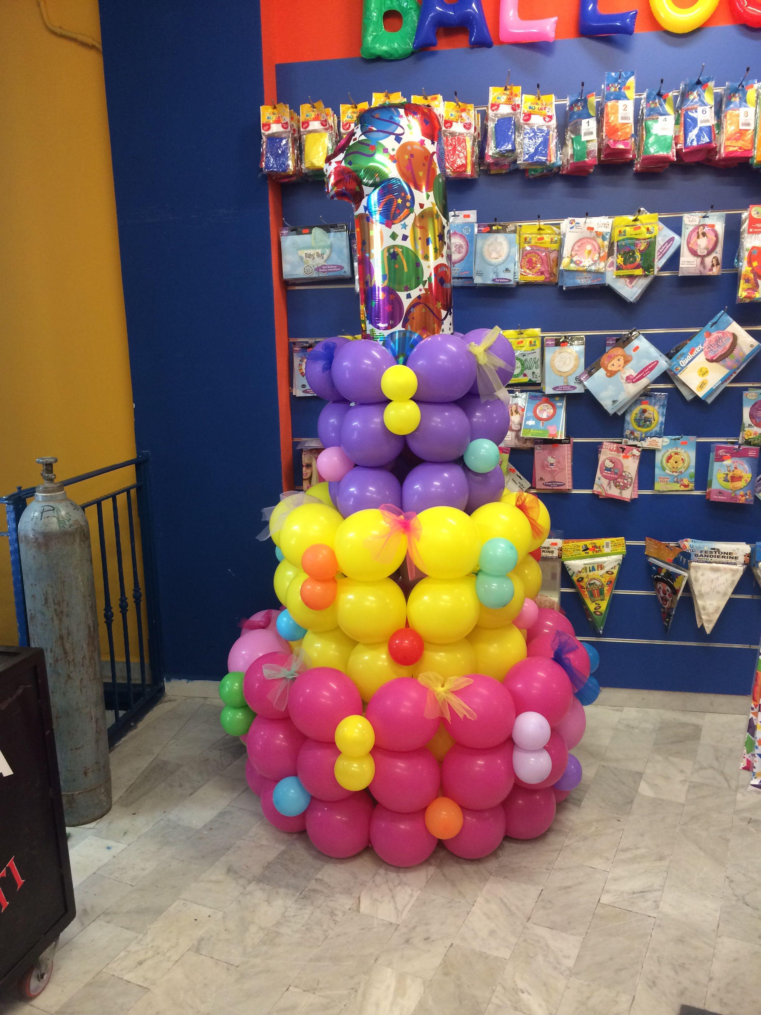 Cake Balloon n. 1
