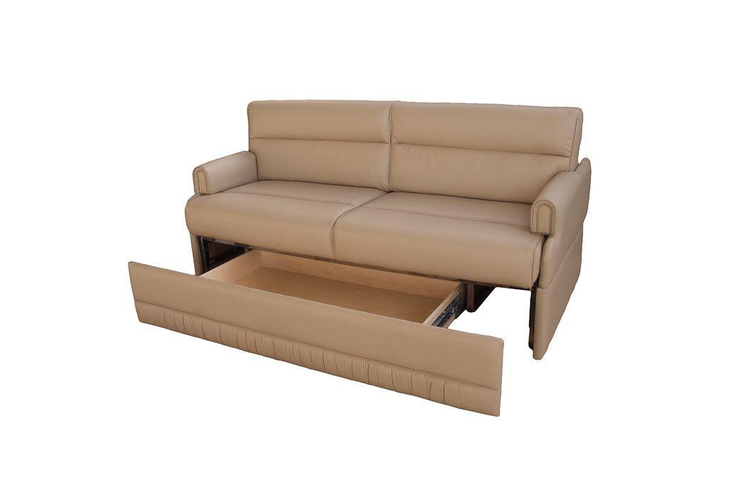 omni jackknife sofa w removable arms