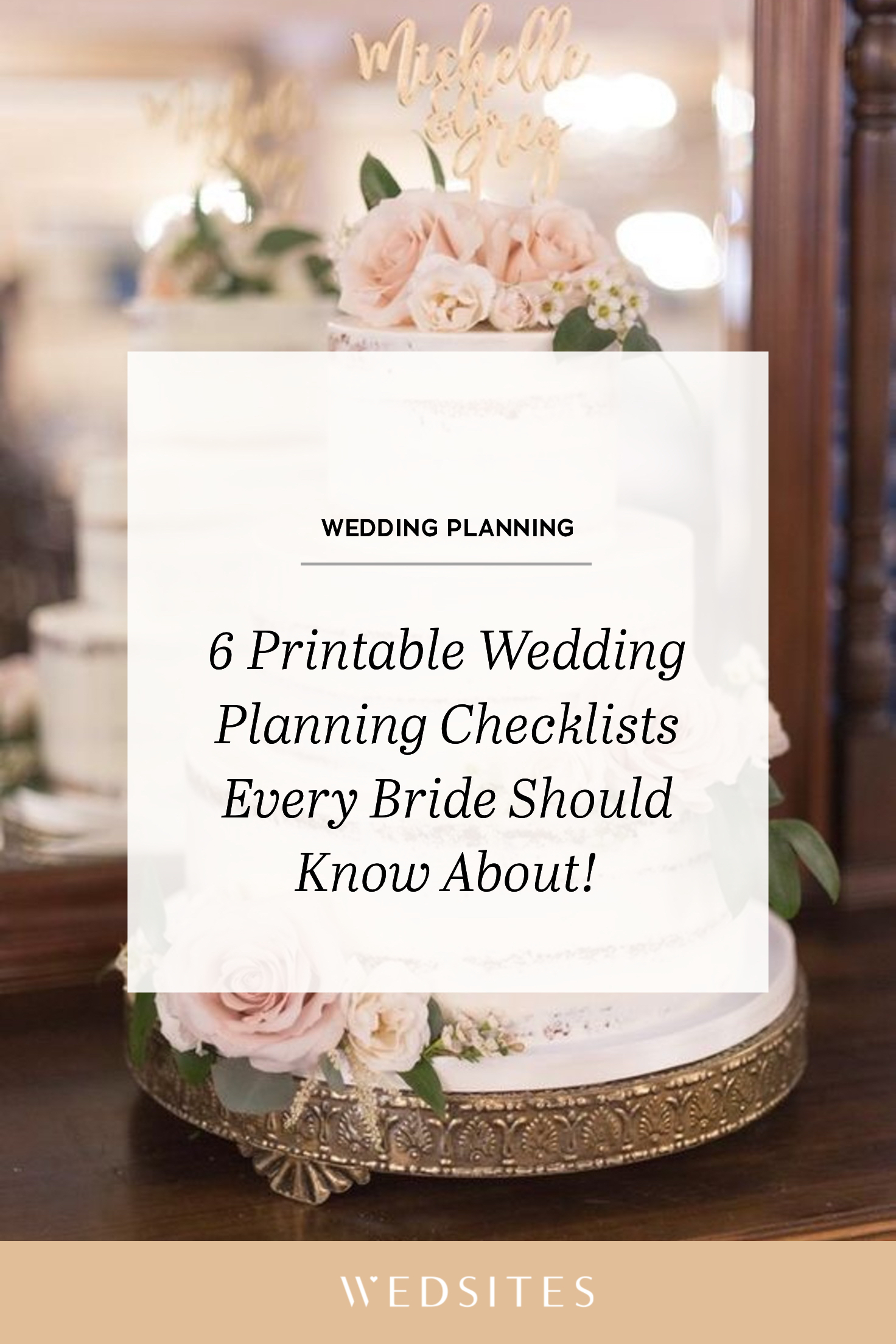 6 Wedding Checklists Every Bride Should Know About In