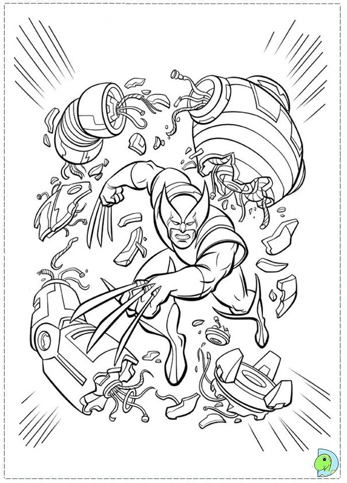 X Men Coloring Page Coloring Pages Fathers Day Coloring Page Coloring Pages For Kids