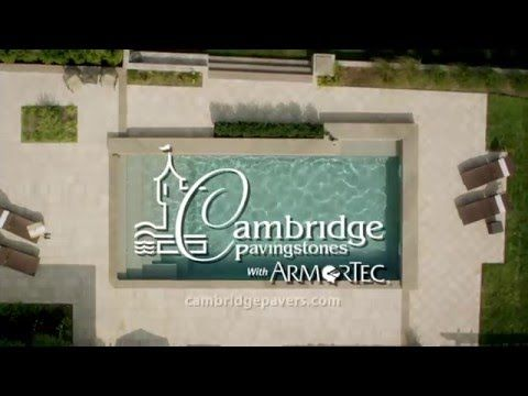 The backyard of my dreams... Update your outdoor living space with Cambridge Pavingstones with ArmorTec.