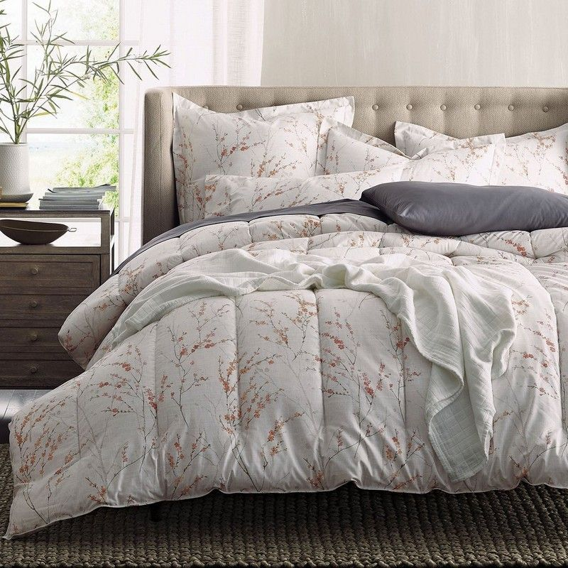 Spring Blossom 300 Thread Count Wrinkle Free Bedding