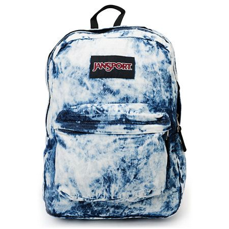 JanSport Denim Daze Acid Blue Backpack | Tie Dye Stuff