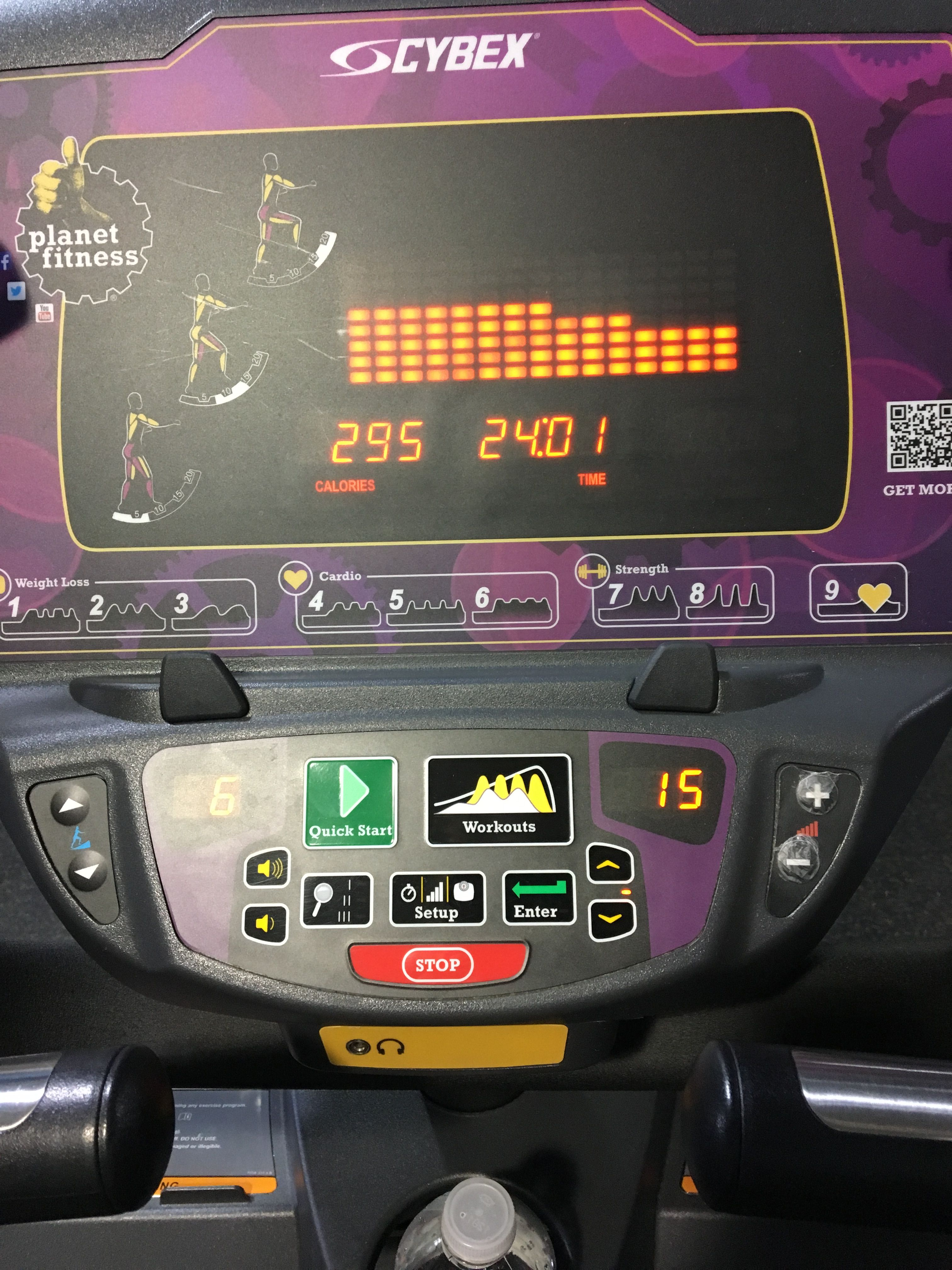 1227 elliptical arc trainer fitness workout cardio