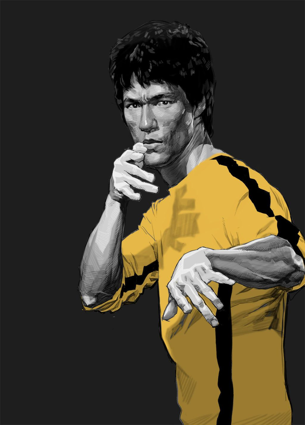 Bruce Lee 16 By Kse332 Deviantart Com On Deviantart Bruce Lee
