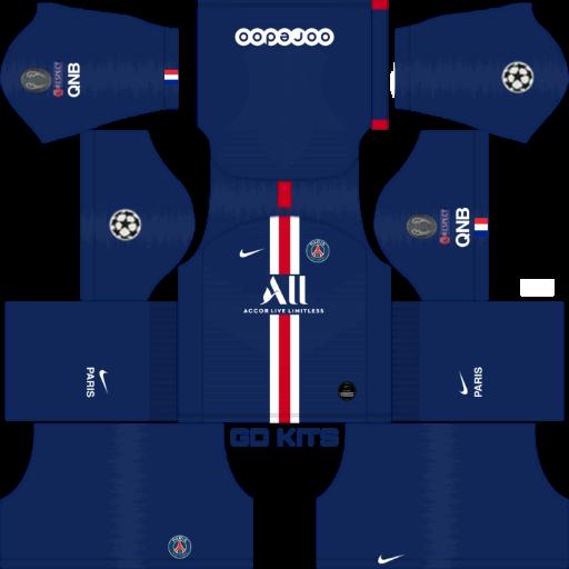 Kits Psg Uefa Champions League 2019 2020 Dls Fts 15 Dream League Soccer 2019 2020 Kits Kits Dream League Soccer Update In 2020 Psg Uefa Champions League Soccer Kits