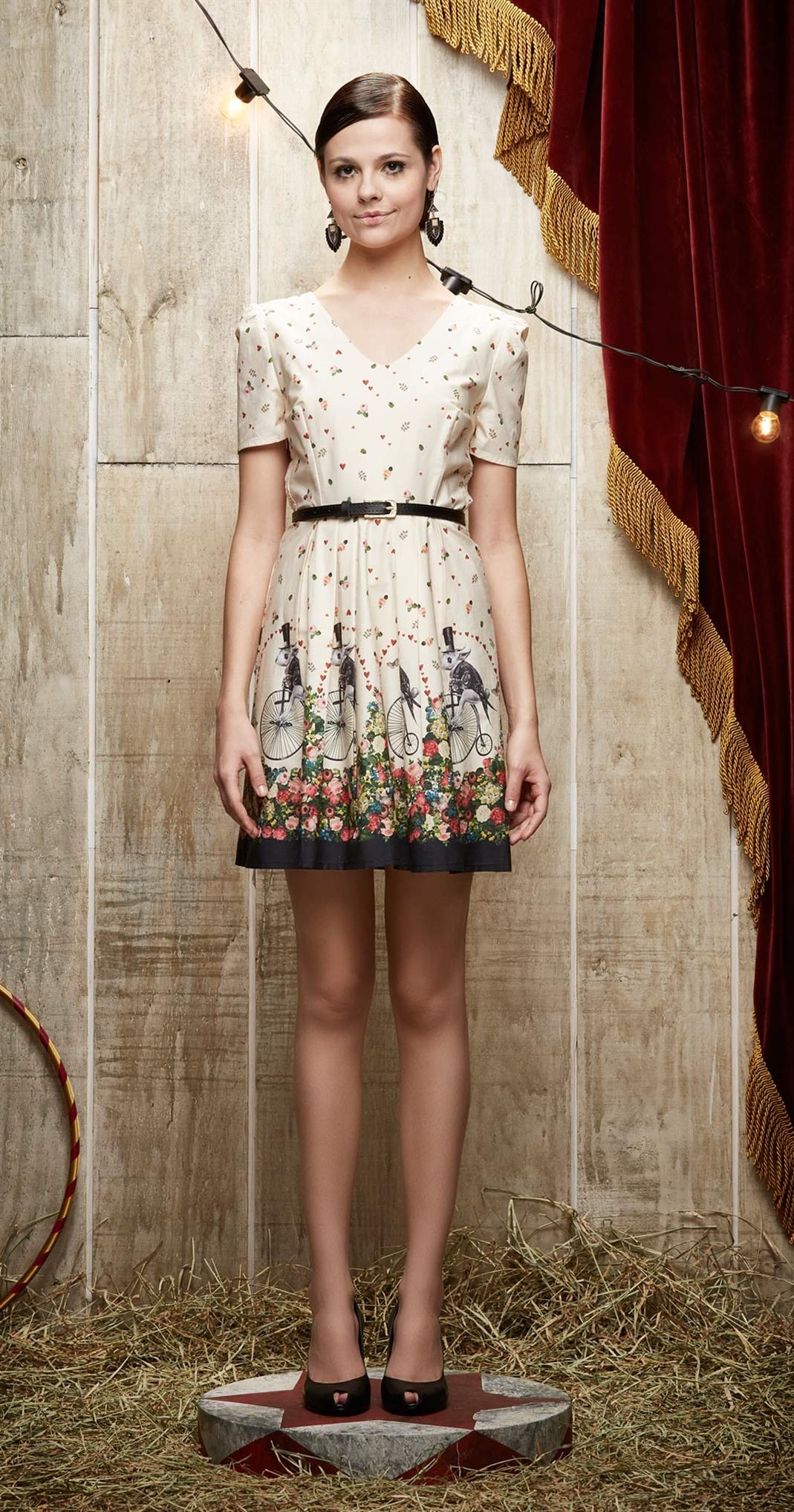 Vestido Saiu Da Cartola | Carola e sua Cartola | Antix Store