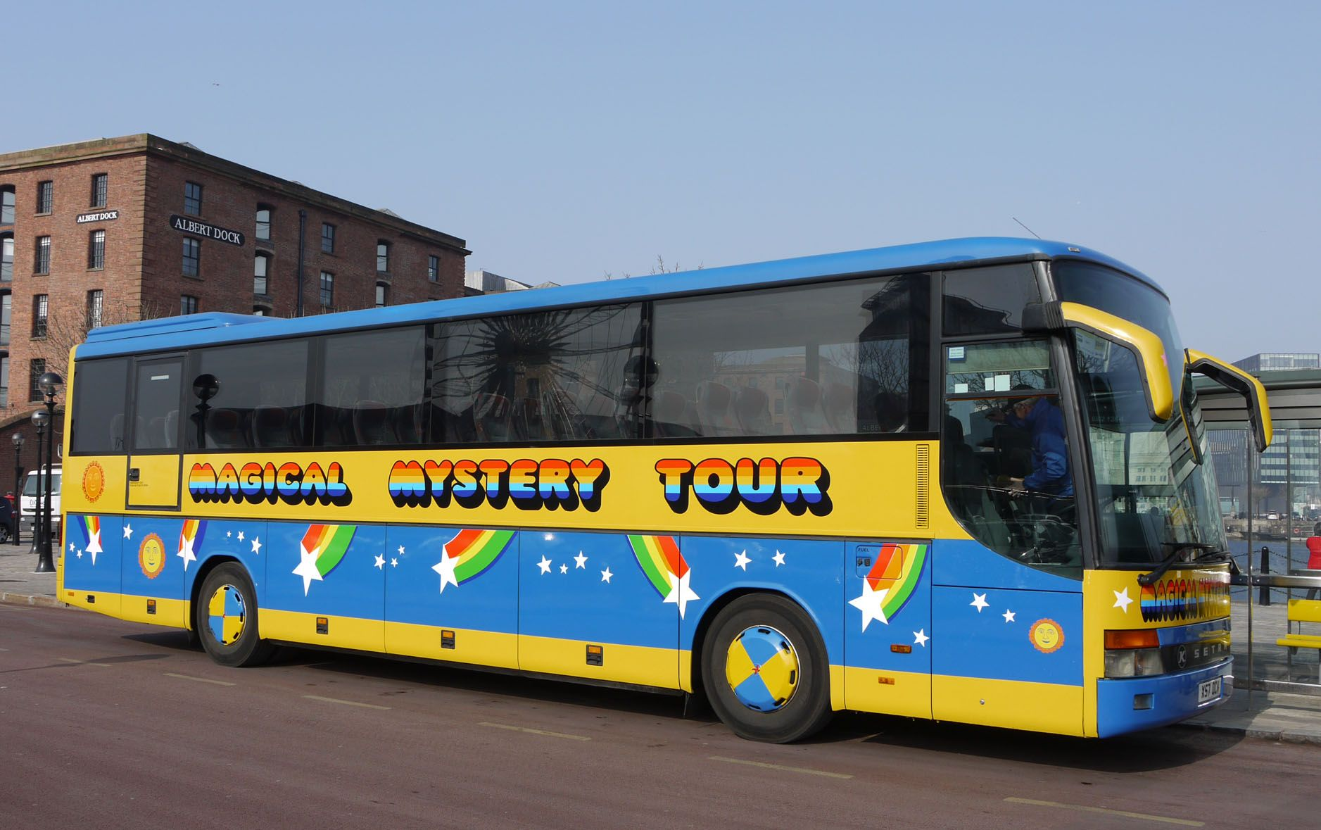Step aboard the colourful Magical Mystery Tour bus for a fun and fascinating 2 hour tour of Beatles Liverpool. You'll see all the places associated with John, Paul, George and Ringo as they grew up, met and formed the band … Read more…