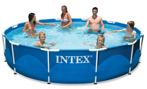 Intex 12ft X 30in Metal Frame Pool Set $95.99 (Today Only) - http://couponingforfreebies.com/intex-12ft-x-30in-metal-frame-pool-set-95-99-today-only/