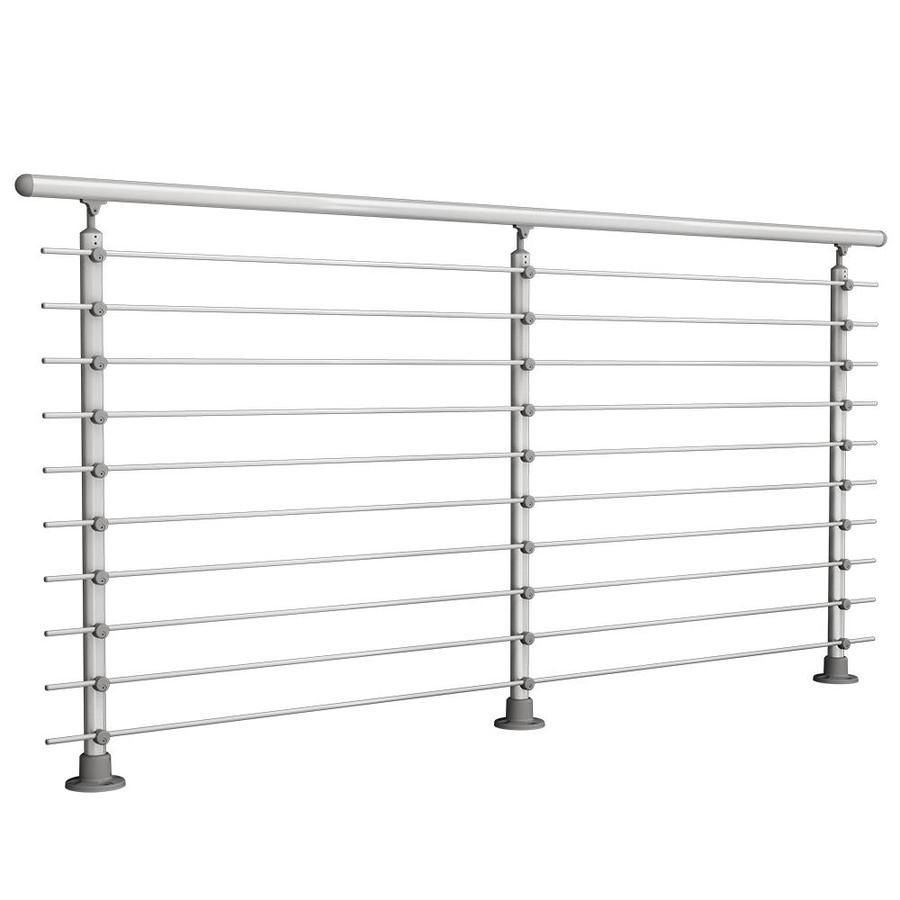 Prova 1 2 In X 1 In X 72 In Prova Stainless Steel Stainless Steel Deck Baluster 10 Pack Lowes Com In 2020 Steel Deck Deck Railing Kits Stainless Steel Cable Railing