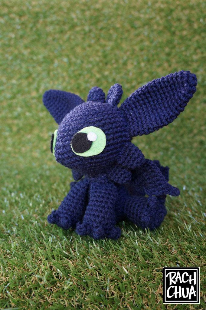 How to crochet toothless. | Crochet | Pinterest | Dragones
