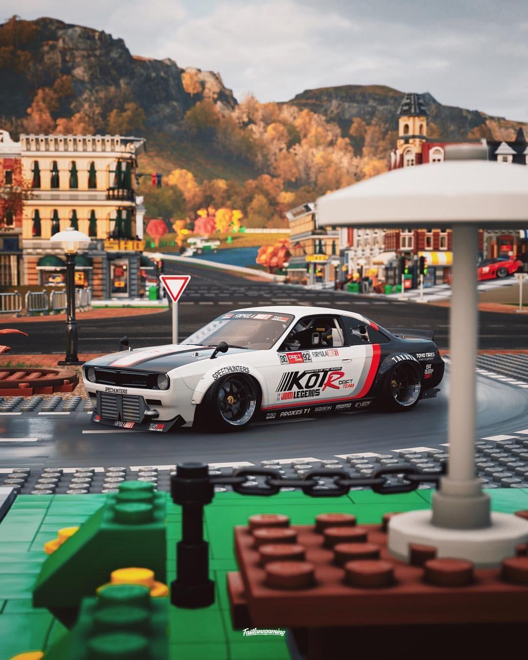 Car Formula Drift 232 Nissan 240SX . Game Forza