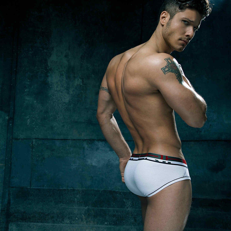 Sexy men's openwork mesh breathable gay man seamless underwear lingerie bodysuit briefs